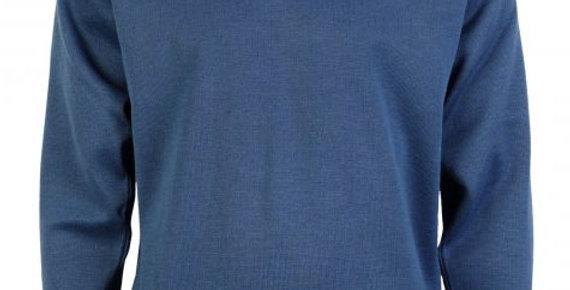 Gabicci Classic V-Neck Pullover Denim