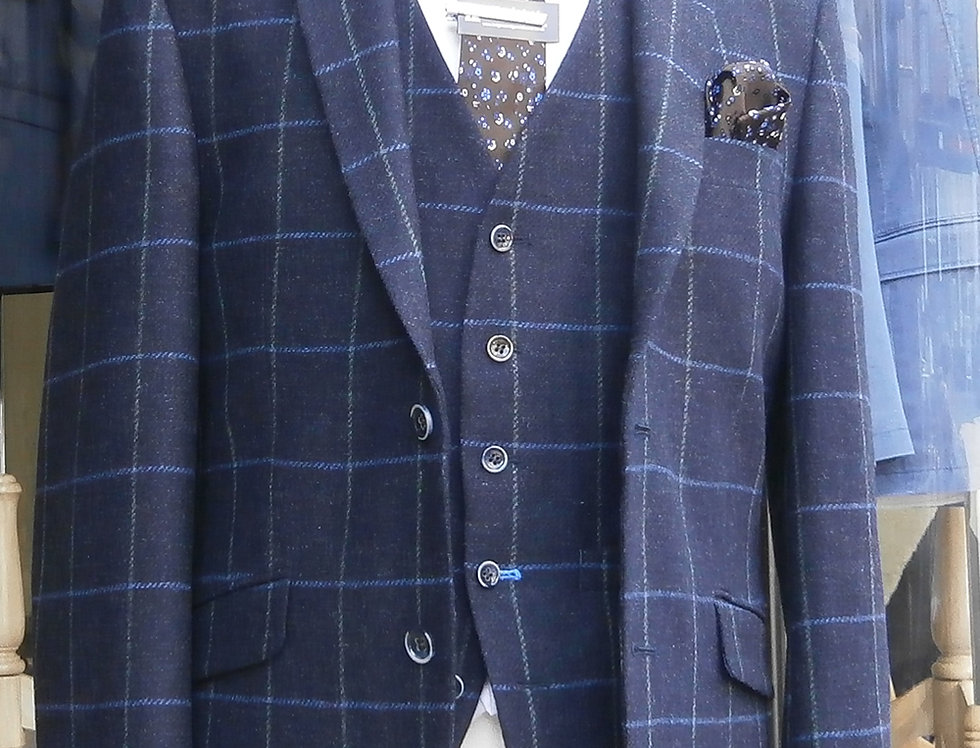 Scott Navy All Wool Jacket