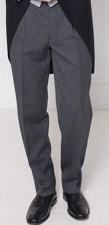 Brook Taverner Classic Single Pleat Stripe Trouser