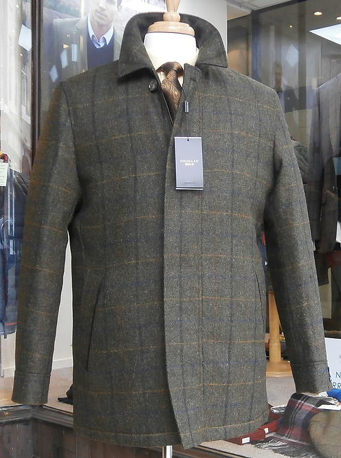 Douglas Gold Tweed Car Coat