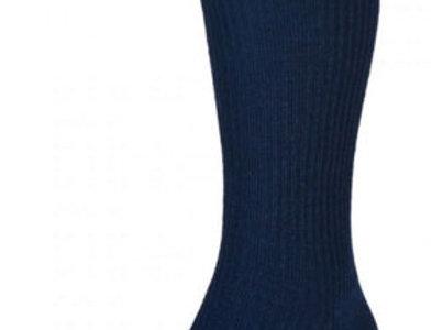 HJ98 Mid-Calf Softop Socks - Navy
