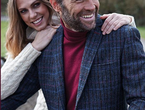 Mongomerie Harris Tweed Tailored Fit Jacket