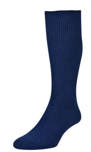 HJ1351 Diabetic Sock - Cotton - Navy