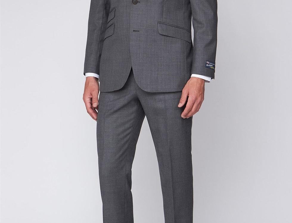 Silver grey sharkskin The Label Esteem Suit Trousers