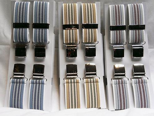 Patterned Braces (narrow stripe)