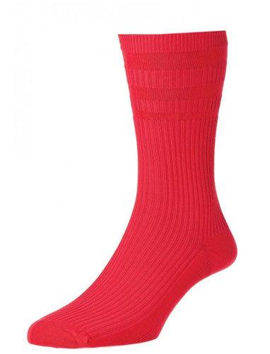 HJ91 Softop Original Cotton Socks Red