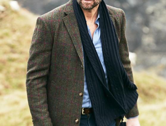 Duncan Harris Tweed Overcoat