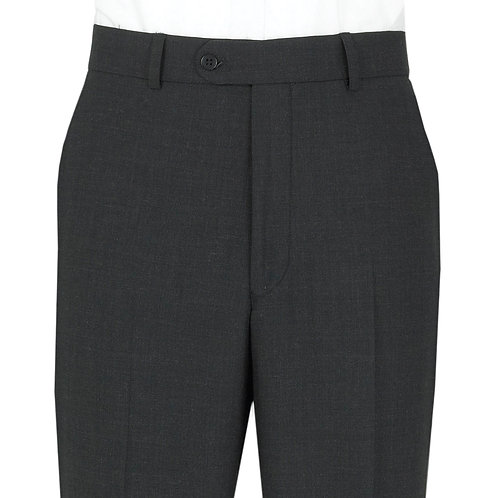 Scott Suit Trouser in Plain Charcoal