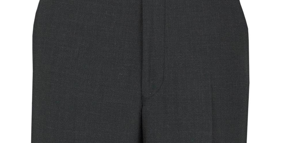 Scott Suit Trouser in Plain Charcoal