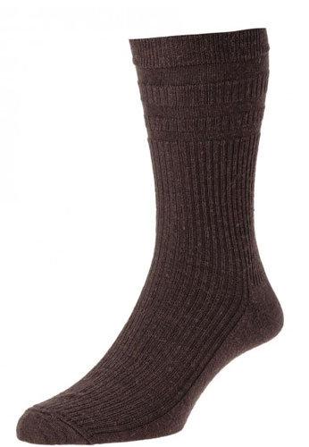 HJ90 Softop Original Wool Rich Socks Brown
