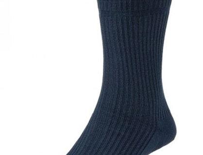 HJ91 Softop Original Cotton Socks Dark Navy
