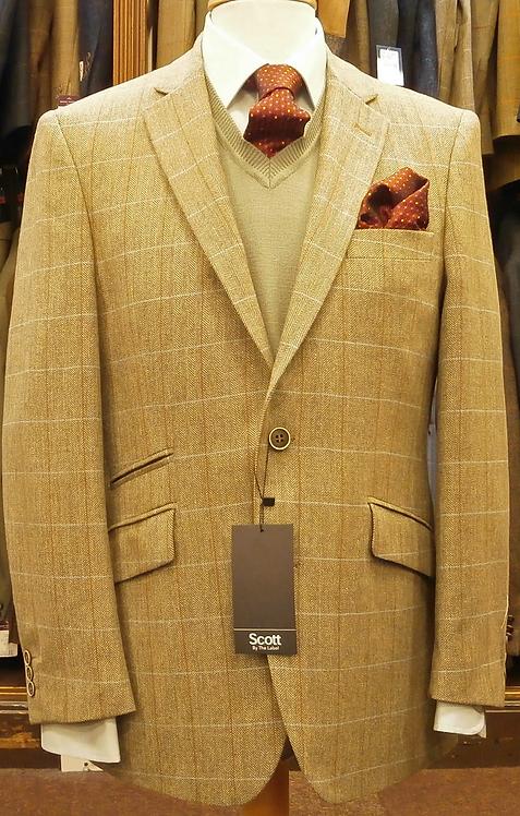 Scott Fawn Herringbone Jacket (18129)