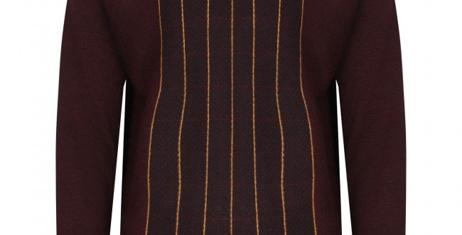 Gabicci patterned V neck pullover