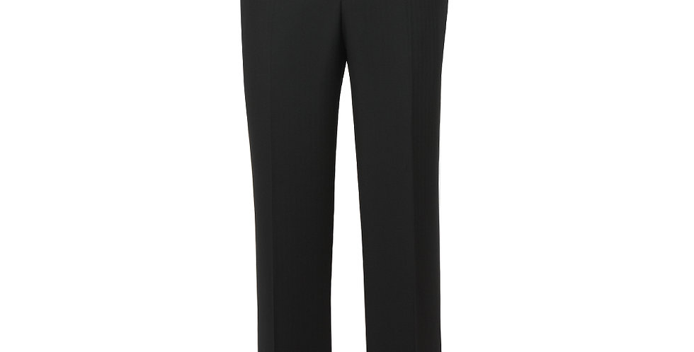 Label Navy Herringbone Suit Trousers