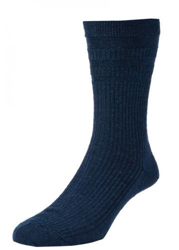 HJ90 Softop Original Wool Rich Socks Dark Navy