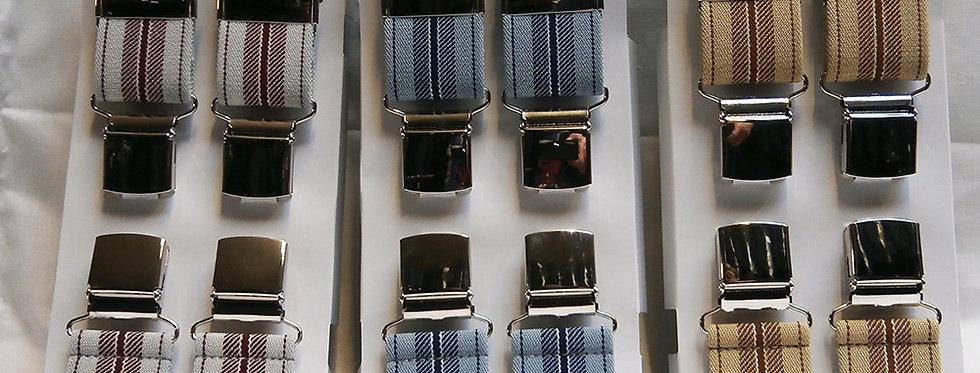 Patterned Braces (wide stripe)