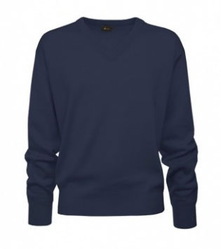 Gabicci Classic V-Neck Pullover Navy