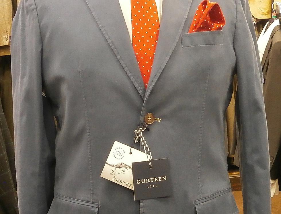 Gurteen Plain mid-blue Summer Jacket
