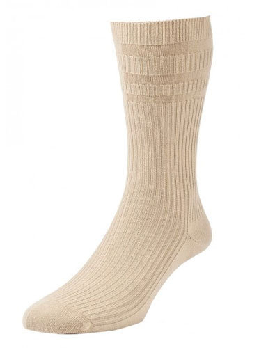 HJ91 Softop Original Cotton Socks Oatmeal