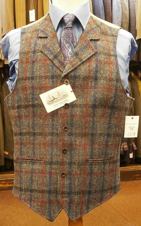 Scarista Harris Tweed Waistcoat