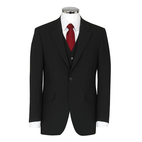 Scott Suit Jacket in Plain Charcoal