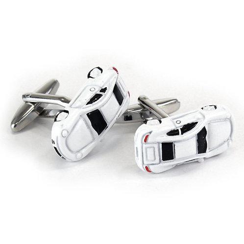 Sports car cufflinks