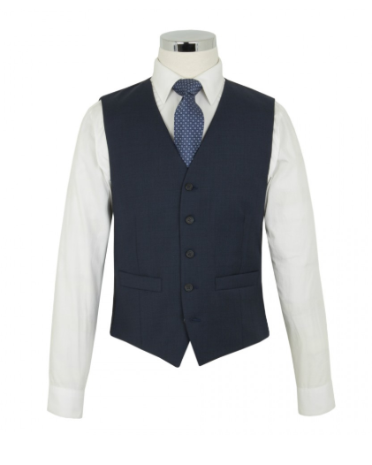 Scott by the Label Ink Blue Suit Waistcoat