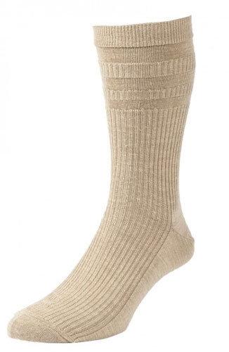 HJ90 Softop Original Wool Rich Socks Oatmeal