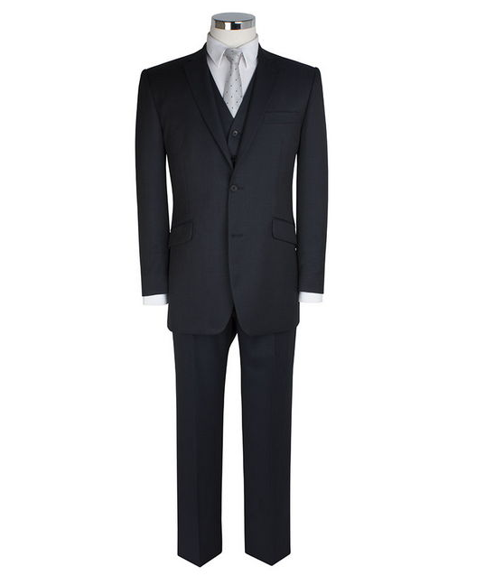 Scott by the Label Ink Blue Suit Trousers