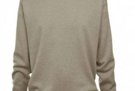 Gabicci Classic V-Neck Pullover Stone