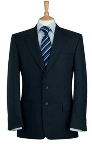 Brook Taverner Classic Suit Jacket in Navy