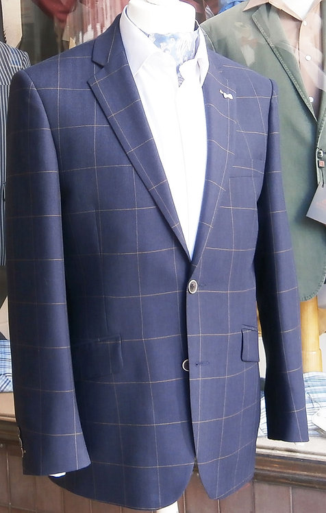 Scott by the label, light weight sports jacket- Navy