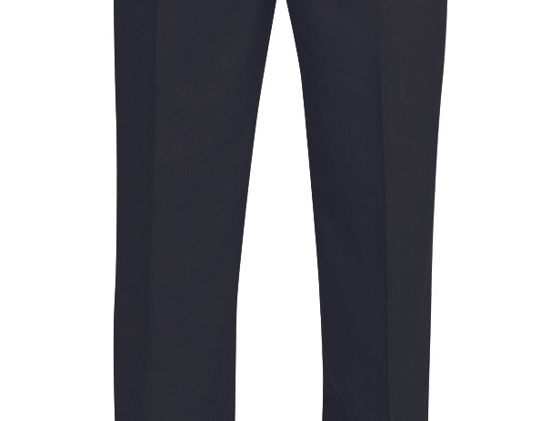 Brook Taverner Classic Suit Trousers in Black