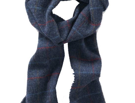 Haincliffe Tweed Lambswool Scarf
