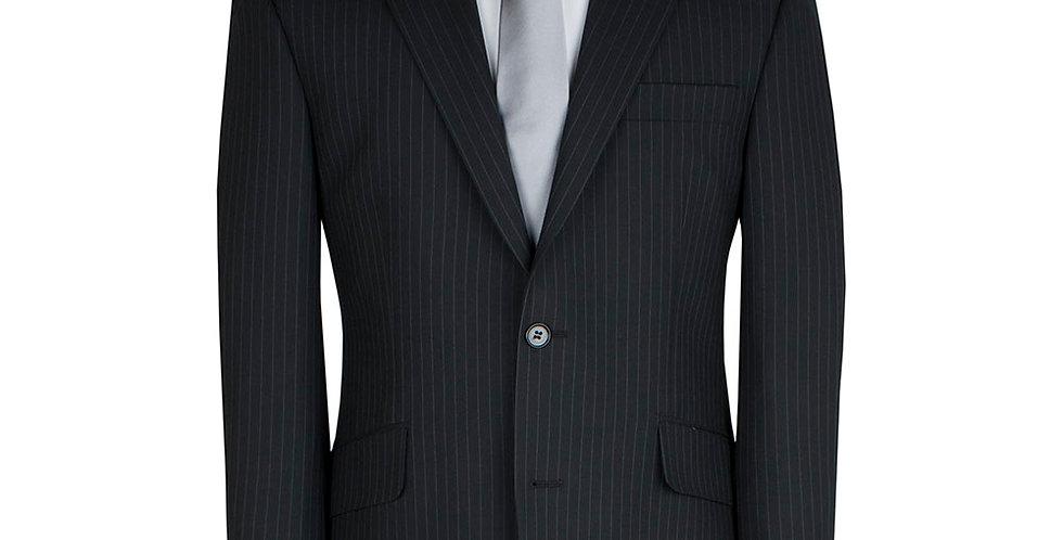 Scott Suit in Charcoal Stripe