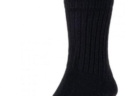 HJ95 Thermal Softop Wool Rich Socks - Black