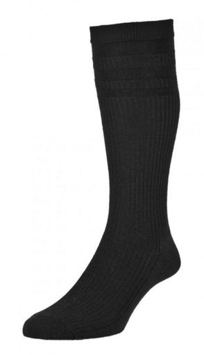 HJ98 Mid-Calf Softop Socks - Black