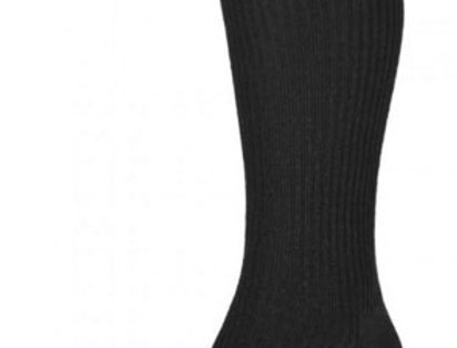 HJ98 Mid-Calf Softop Socks - Black