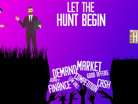Ready, Set, let the hunt begin