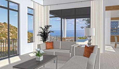 Villa Colinas del Mar Living Room San Jose del Cabo