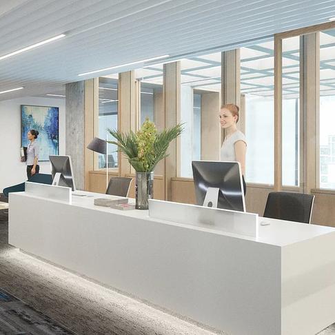 Fitzrovia Office Reception