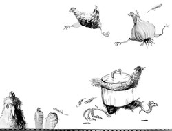 ilustrace z knihy Petry Braunové _Eda se