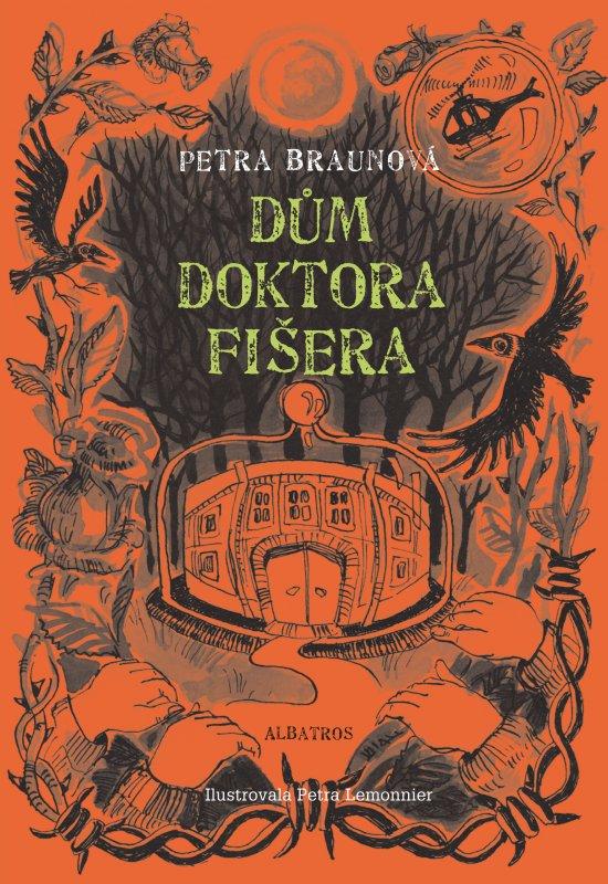 """obálka ke knize """"Dům doktora Fišera"""""""