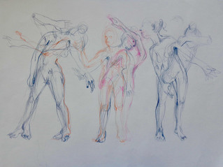 Sketching/catching a movement