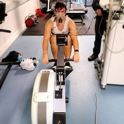 Rowing VO2 max test