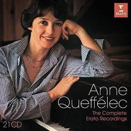 Anne Queffélec Coffret Les enregistrements Erato 21 CDS