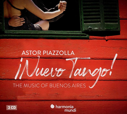 Nuevo Tango Piazzolla The Music of buenos Aires Coffret 3 CDs
