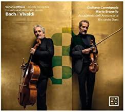 Bach/Vivaldi:Doubles concertos violon/violoncelle Carmignola/Brunello