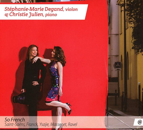 So french Stephanie-Marie Degand/Christie Julien