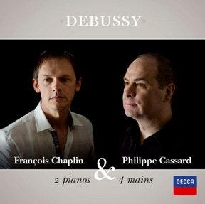 Debussy 2 Pianos & 4 mains François Chaplin & Philippe Cassard